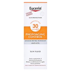 Eucerin Sun Photoaging Control Face Fluid LSF 30 + gratis Eucerin Sun Oil Control 5 ml 50 Milliliter - Rückseite