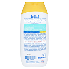 LADIVAL trockene Haut Milch LSF 50+ + gratis Ladival Anti-Pigment Creme LSF 30 (5 ml) 200 Milliliter - Rückseite