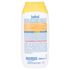 LADIVAL Kinder allergische Haut Gel LSF 30 200 Milliliter - Rückseite