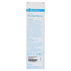 ACTIMARIS Wundspüllösung sensitiv 300 Milliliter - Rückseite