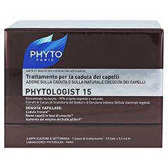 PHYTOLOGIST 15 Anti-Haarausfall Ampullen 12x3.5 Milliliter - Rückseite