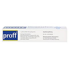 Ibuprofen proff 5% 100 Gramm - Unterseite