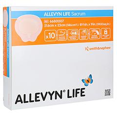 ALLEVYN Life Sacrum groß Silikonschaumverband 10 Stück