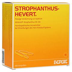 STROPHANTHUS HEVERT Ampullen 100 Stück N3