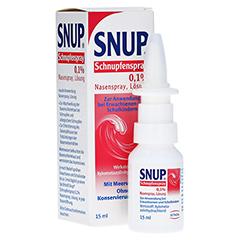 Snup Schnupfenspray 0,1% 15 Milliliter N2