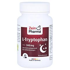 L-TRYPTOPHAN 500 mg aus Fermentation Kapseln 45 Stück