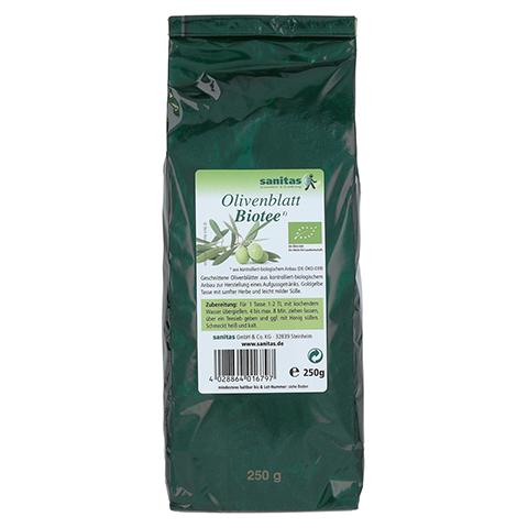 OLIVENBLATT Biotee 250 Gramm