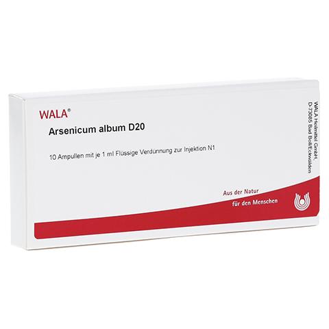 ARSENICUM ALBUM D 20 Ampullen 10x1 Milliliter N1