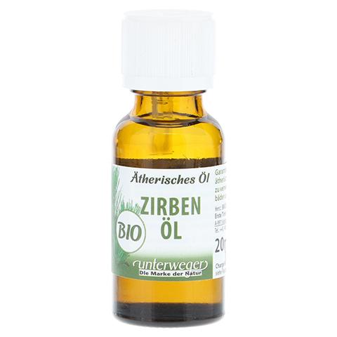 ZIRBEN-Öl ätherisch Unterweger Bio 20 Milliliter