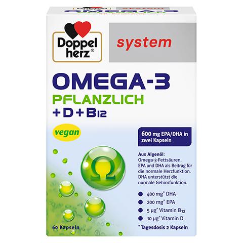 Doppelherz system Omega-3 Pflanzlich 60 Stück