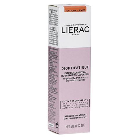 LIERAC Dioptifatigue Müde Gel-Creme 15 Milliliter