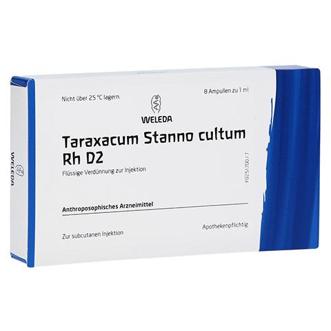 TARAXACUM STANNO cultum RH D 2 Ampullen 8x1 Milliliter N1
