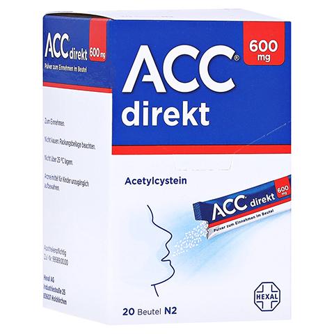 ACC direkt 600mg Pulver zum Einnehmen 20 Stück N1