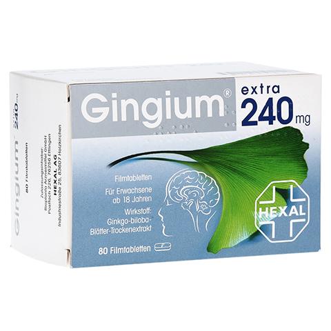 GINGIUM extra 240 mg Filmtabletten 80 Stück
