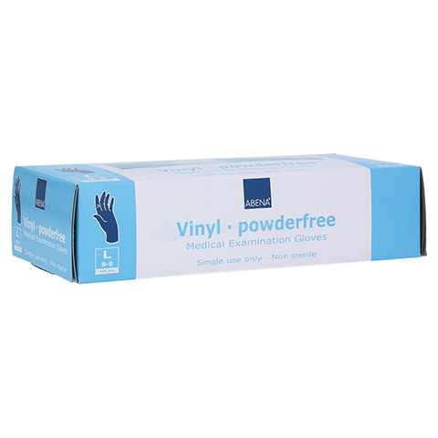 VINYL Handschuhe puderfrei large blau 100 Stück