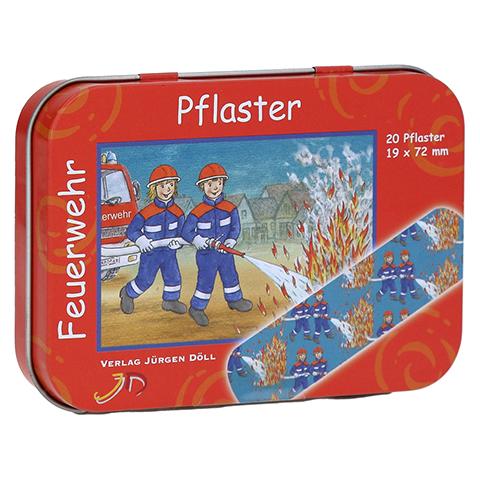 KINDERPFLASTER Feuerwehr Dose 20 Stück