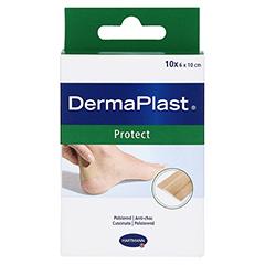 DERMAPLAST protect Pflaster 6x10 cm 10 Stück - Vorderseite