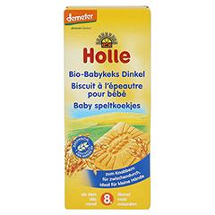HOLLE Bio Babykeks Dinkel 150 Gramm - Vorderseite