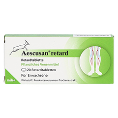 Aescusan retard 20 Stück N1 - Vorderseite