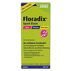 Floradix Sport Eisen Tonikum 250 Milliliter - Vorderseite