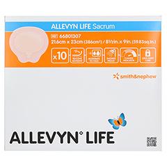 ALLEVYN Life Sacrum groß Silikonschaumverband 10 Stück - Vorderseite