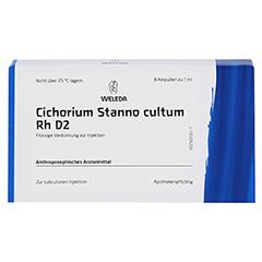 CICHORIUM STANNO cultum Rh D 2 Ampullen 8x1 Milliliter N1 - Vorderseite