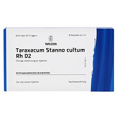 TARAXACUM STANNO cultum RH D 2 Ampullen 8x1 Milliliter N1 - Vorderseite