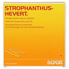 STROPHANTHUS HEVERT Ampullen 100 Stück N3 - Vorderseite