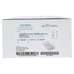 LIGASANO weiß Verband 0,5x10x15 cm steril 30 Stück - Vorderseite