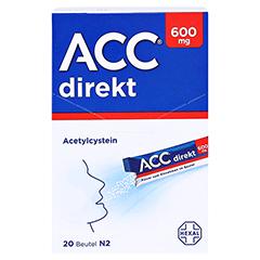 ACC direkt 600mg Pulver zum Einnehmen 20 Stück N1 - Vorderseite