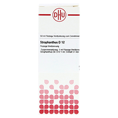 STROPHANTHUS D 12 Dilution 50 Milliliter N1 - Vorderseite