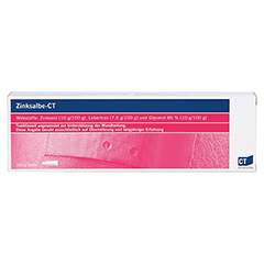 Zinksalbe-CT 100 Gramm - Vorderseite