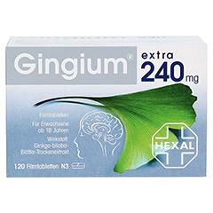 Gingium extra 240mg 120 Stück N3 - Vorderseite