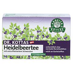 DR.KOTTAS Heidelbeertee Filterbeutel 20 Stück - Vorderseite