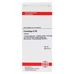 CIMICIFUGA D 30 Tabletten 200 Stück - Vorderseite