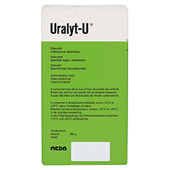 URALYT-U Granulat 280 Gramm N2 - Linke Seite