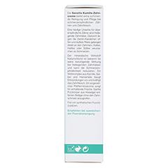 LOGODENT Sensitiv Kamille-Zahncreme 75 Milliliter - Linke Seite