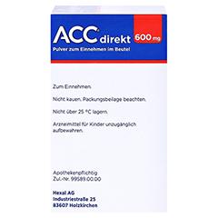 ACC direkt 600mg Pulver zum Einnehmen 20 Stück N1 - Linke Seite