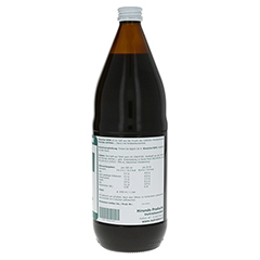 NONI Saft Bioactive 1000 Milliliter - Linke Seite