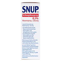 Snup Schnupfenspray 0,1% 15 Milliliter N2 - Linke Seite