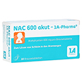NAC 600 akut-1A Pharma 10 Stück