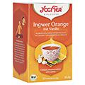 YOGI TEA Ingwer Orange+Vanille Bio Filterbeutel 17x1.8 Gramm