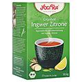 YOGI TEA Grüntee Ingwer Zitrone Bio Filterbeutel 17x1.8 Gramm