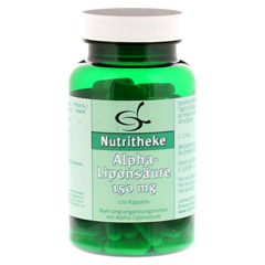 ALPHA LIPONSÄURE 150 mg Kapseln 120 Stück