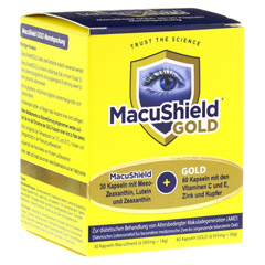MACUSHIELD GOLD 30+60 Kapseln 90 Stück