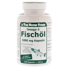 OMEGA 3 Fischöl 1000 mg Kapseln 120 Stück