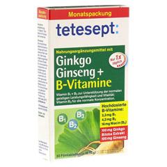 TETESEPT Ginkgo Ginseng+B-Vitamine Tabletten 30 Stück