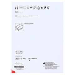 ZETUVIT Saugkompressen steril 10x10 cm 25 Stück - Rückseite