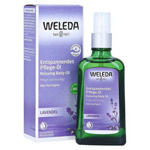 WELEDA Lavendel entspannendes Pflege-Öl 100 Milliliter