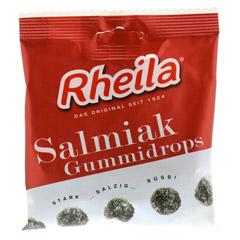RHEILA Salmiak Gummidrops mit Zucker 90 Gramm